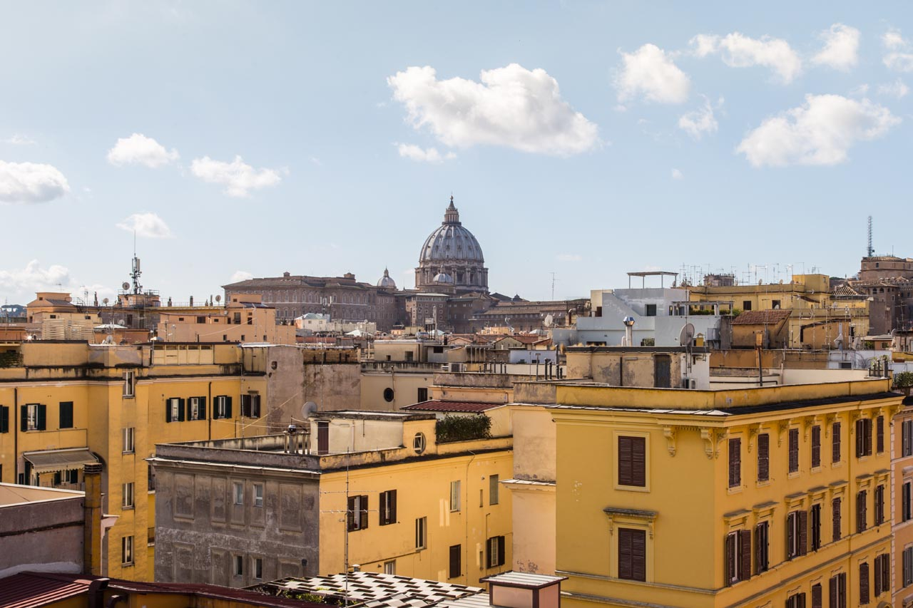 In the heart of Rome